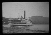 Steamer on Lake Champlain