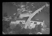 Aerial Photo bridge 1953