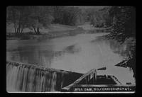 Dam on Lewis Creek