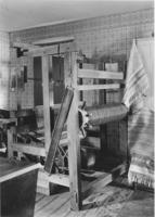 Interior with loom, Williamsville, Vt.