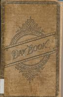 Porter Thayer's Daybook, cover and two pages