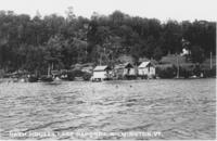 Bath Houses, Lake Raponda, Wilmington, Vt.