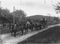 Town Road Crew with Six Horse Team Plow and Workers, Marlboro, Vt.