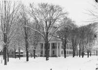 Courthouse in Winter, Newfane, Vt.
