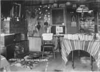 Interior of Ben Casson's Cabin