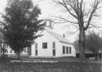 Baptist Church, South Newfane, Vt.