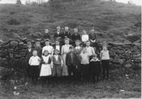 Miss Luelle Williams' South Newfane School Class