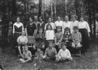 Miss Sadie Morse's Brookside School Class