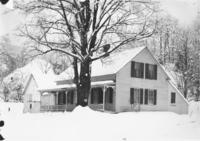 Frank Morse's House in Snow, South Newfane, Vt.