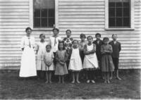 South Wardsboro School class portrait, Wardsboro, Vt.