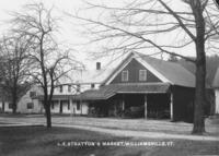 L.E. Stratton's Market, Williamsville, Vt.