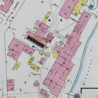Fire Insurance Maps of Winooski, Vermont, 1889