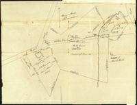 Burlington plan of land near the Falls, September 3, 1827