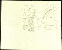Burlington Extract from plan of Pearl Street and about the College, undated