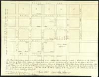 Burlington Village for Doctor B. J. Heineberg, August, 1840 (1842 copy)