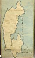 A Map of Grand Isle, undated