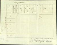 Burlington: Henry Thomas land East of Courthouse Square, May 9, 1833