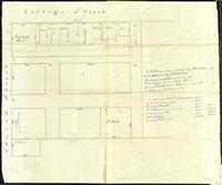 Burlington: Strong's lot, East of court house square, May 31, 1839