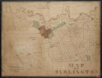 Burlington (ms. For 1836/42 printed map, Cobb no. 220), 1836