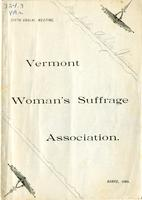 Minutes of the Fifth Annual Meeting of Vermont Woman's Suffrage Association, Held in Opera Hall, Barre, Vt., Wednesday Evening and Thursday, Feb. 13 and 14, 1889.