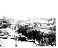 Winooski, VT - Winooski River and Mills (Panormama: 7 Photos numbered left to right)