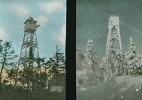 Belvidere Mountain Tower: Summer and Winter