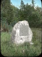 Daniel Webster Marker erected by the Stratton Mountain Club on August 10, 1915