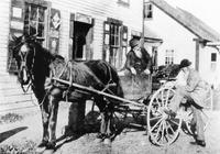 Men with horse and buggy