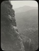 Smugglers' Notch from a cliff on Mount Mansfield