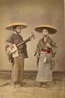 Two traveling female performers