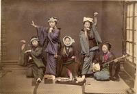 A group of female performers