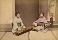 Two female musicians