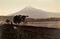 Mt Fuji and the surrounding countryside