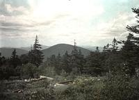 North from the site of the old hotel on Mount Killington