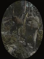 Herbert Wheaton Congdon and Leverett T. Smith carrying Poirier packs