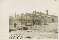 Burlington Street Department Buildings - Construction of Building