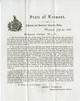 General order no. 9 ... By General Order No. 74, current series, from the War Department, the premium of two dollars may be paid by the Recruiting Officer to any recruit for the volunteer services. who presents himself for enlistment, - payment to be made
