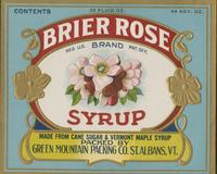Brier Rose Brand Syrup