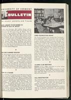 Bulletin of the University of Vermont vol. 58 no. 14