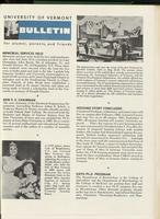 Bulletin of the University of Vermont vol. 58 no. 12