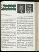 Bulletin of the University of Vermont vol. 59 no. 16