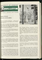 Bulletin of the University of Vermont vol. 59 no. 06