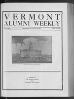 Vermont Alumni Weekly vol. 01 no. 16