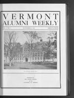 Vermont Alumni Weekly vol. 01 no. 07