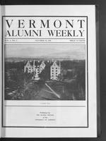 Vermont Alumni Weekly vol. 01 no. 05