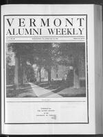 Vermont Alumni Weekly vol. 01 no. 20