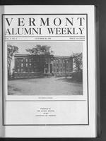 Vermont Alumni Weekly vol. 01 no. 06