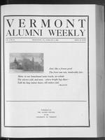 Vermont Alumni Weekly vol. 01 no. 18