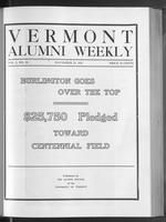 Vermont Alumni Weekly vol. 01 no. 10