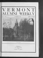 Vermont Alumni Weekly vol. 01 no. 04